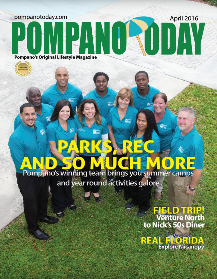 April 2016 Cover Pompano Today Project