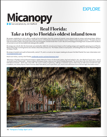 Pompano Today Layout & Travel Photography