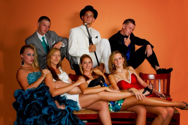 Students Prom Portrait